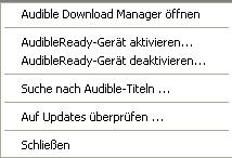 audible download manager funktioniert nicht mehr